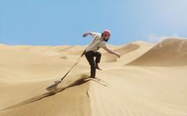 Papel de parede Tintin: Capitão Haddock no Deserto
