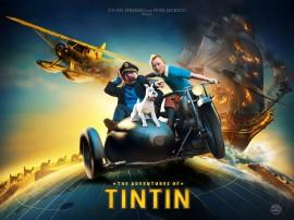Papel de parede Tintin: Cartaz do Filme