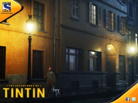 Papel de parede Tintin: O Filme