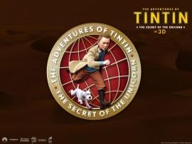 Papel de parede Tintin em 3D