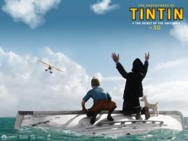 Papel de parede O filme de Tintin