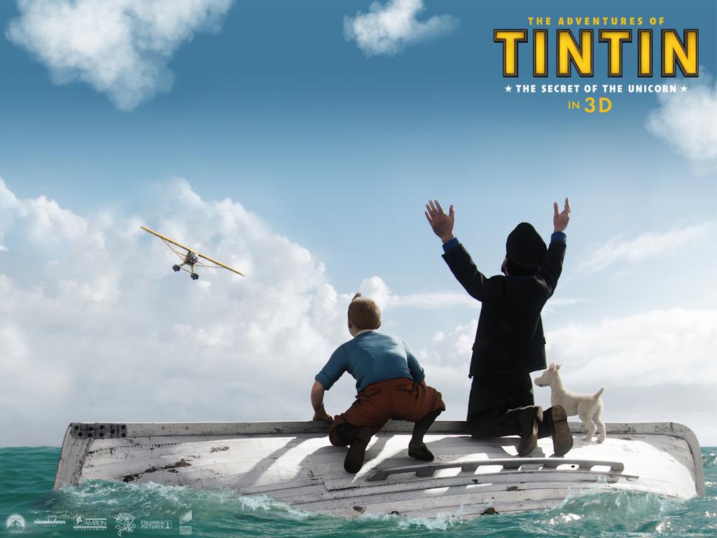 Papel de parede O filme de Tintin para download gratuito. Use no computador pc, mac, macbook, celular, smartphone, iPhone, onde quiser!
