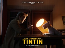 Papel de parede Tintin e Milu