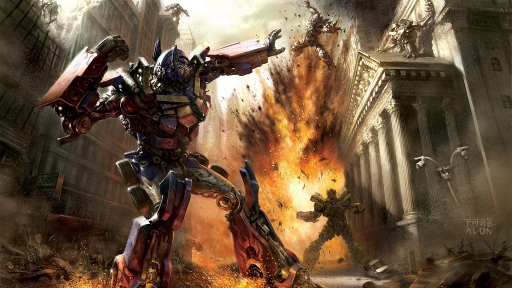 Papel de parede Transformers 3 – Explosões para download gratuito. Use no computador pc, mac, macbook, celular, smartphone, iPhone, onde quiser!