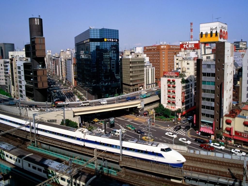 Papel de parede Trem – No Japão para download gratuito. Use no computador pc, mac, macbook, celular, smartphone, iPhone, onde quiser!