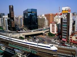 Papel de parede Trem – No Japão