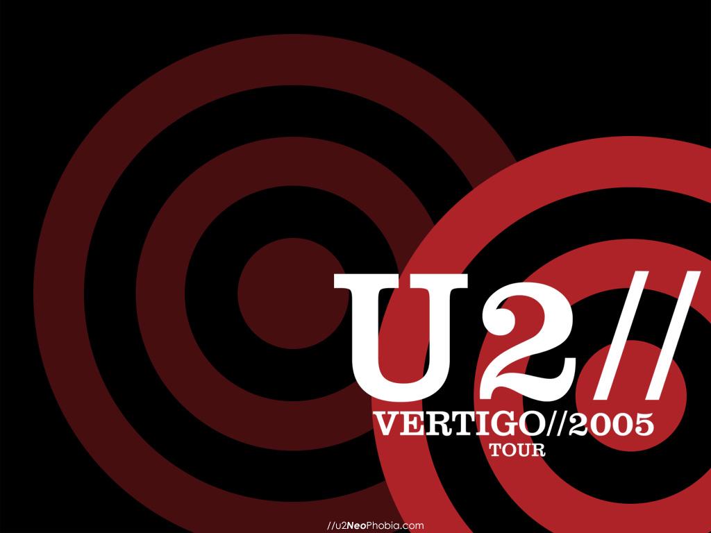 Papel de parede U2 – Vertigo 2005 para download gratuito. Use no computador pc, mac, macbook, celular, smartphone, iPhone, onde quiser!