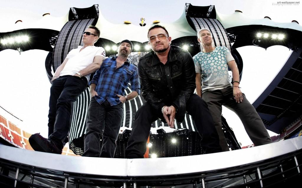 Papel de parede U2 – Show para download gratuito. Use no computador pc, mac, macbook, celular, smartphone, iPhone, onde quiser!