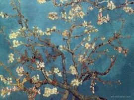 Papel de parede Van Gogh – Amendoeira em Flor