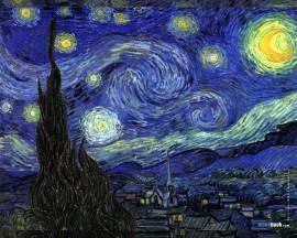 Papel de parede Van Gogh – Noite Estrelada
