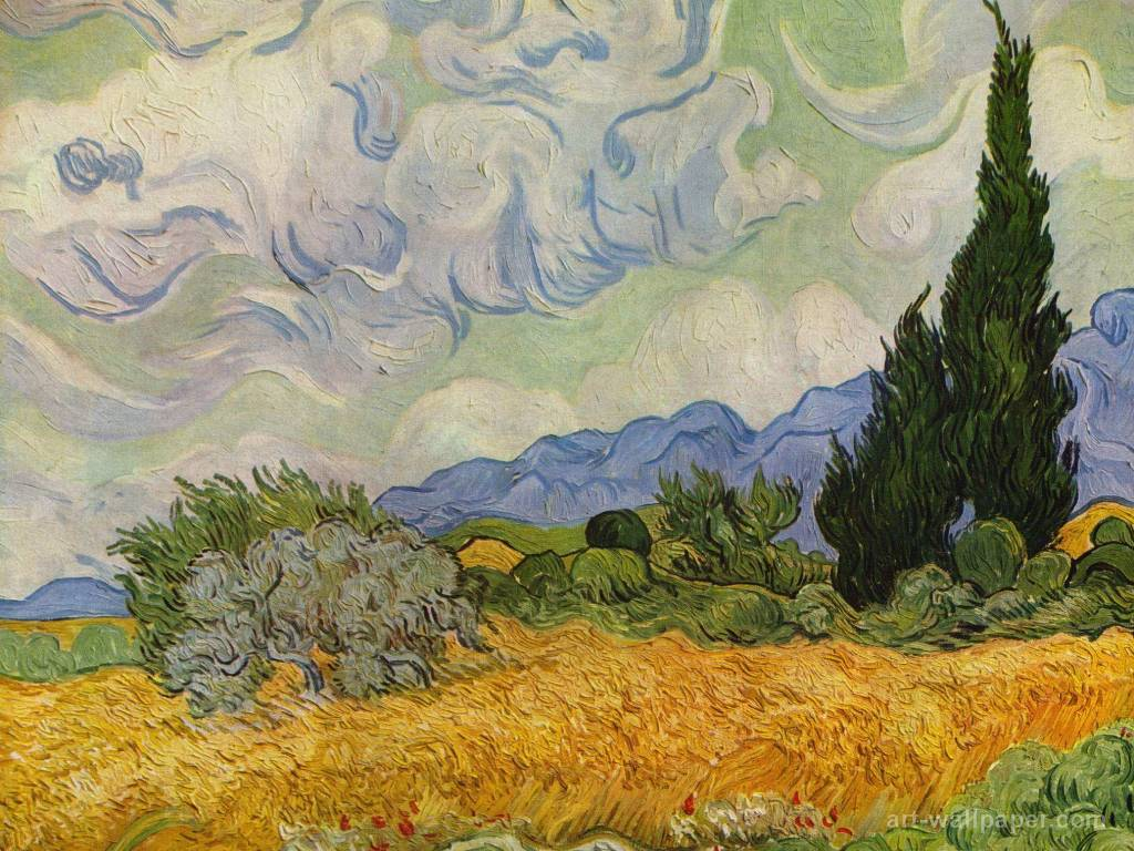 Papel de parede Van Gogh – Vincent para download gratuito. Use no computador pc, mac, macbook, celular, smartphone, iPhone, onde quiser!