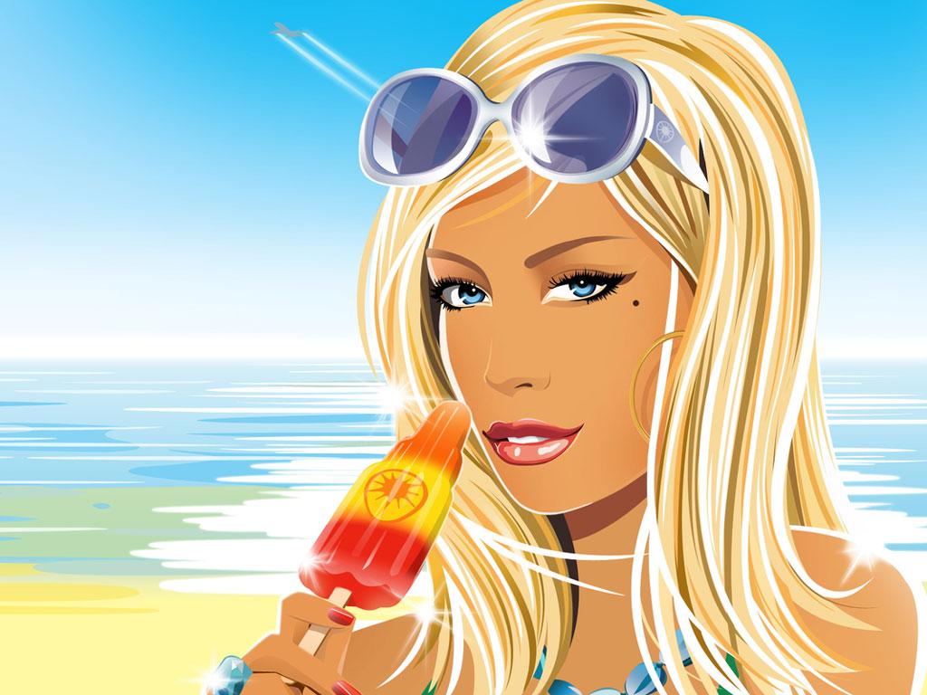 Papel de parede Verão e Picolé para download gratuito. Use no computador pc, mac, macbook, celular, smartphone, iPhone, onde quiser!
