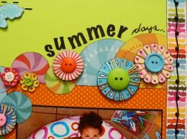 Papel de parede Colagem de Verão