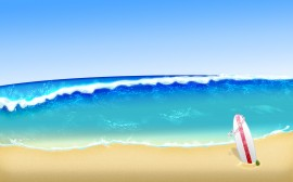 Papel de parede Verão e Surf