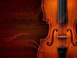 Papel de parede Violino – Instrumento