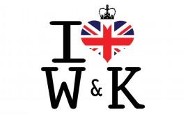 Papel de parede Nós amamos William e Kate