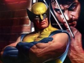 Papel de parede Wolverine – Cartaz