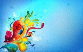 Papel de parede Abstrato – Coloridas