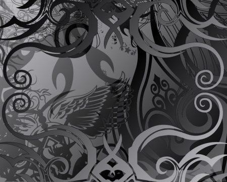 Papel de parede Abstrato – Preto e Cinza para download gratuito. Use no computador pc, mac, macbook, celular, smartphone, iPhone, onde quiser!