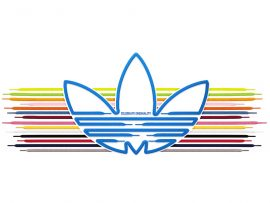 Papel de parede Adidas – Famosa