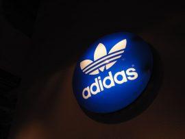 Papel de parede Adidas – Marca Famosa