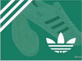 Papel de parede Adidas – Tênis