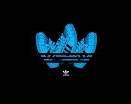 Papel de parede Adidas – Tênis-Símbolo