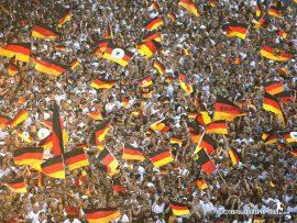 Papel de parede Alemanha – Torcida