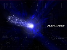 Papel de parede Alienware Espaço Azul