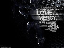 Papel de parede Amor e graça