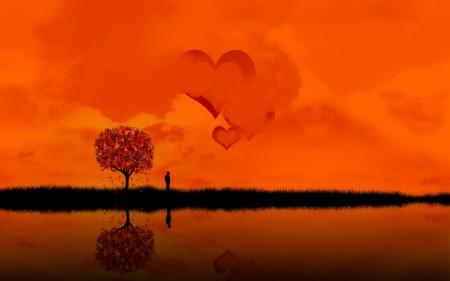 Papel de parede Amor Laranja para download gratuito. Use no computador pc, mac, macbook, celular, smartphone, iPhone, onde quiser!
