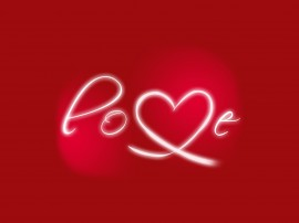 Papel de parede Amor com Letras