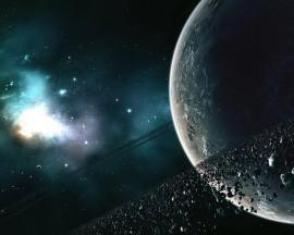 Papel de parede Anel de Asteroides