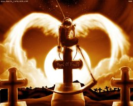 Papel de parede Anjo da Morte