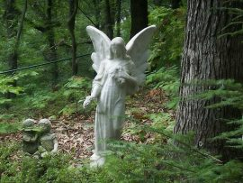 Papel de parede Anjo de pedra
