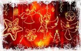 Papel de parede Anjos de Natal – Delicado