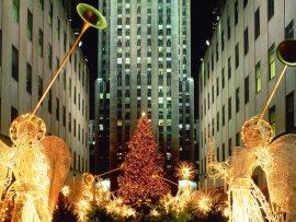 Papel de parede Anjos de Natal – Nova York