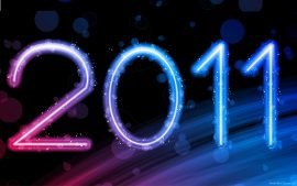 Papel de parede Ano Novo: 2011