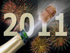 Papel de parede Ano Novo de Comemorações