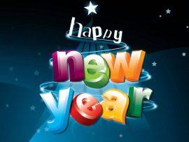 Papel de parede Ano Novo de Diversão