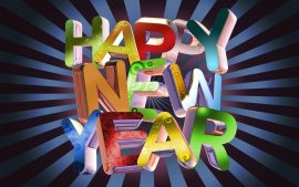 Papel de parede Ano Novo Divertido
