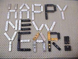 Papel de parede Ano Novo Reciclável