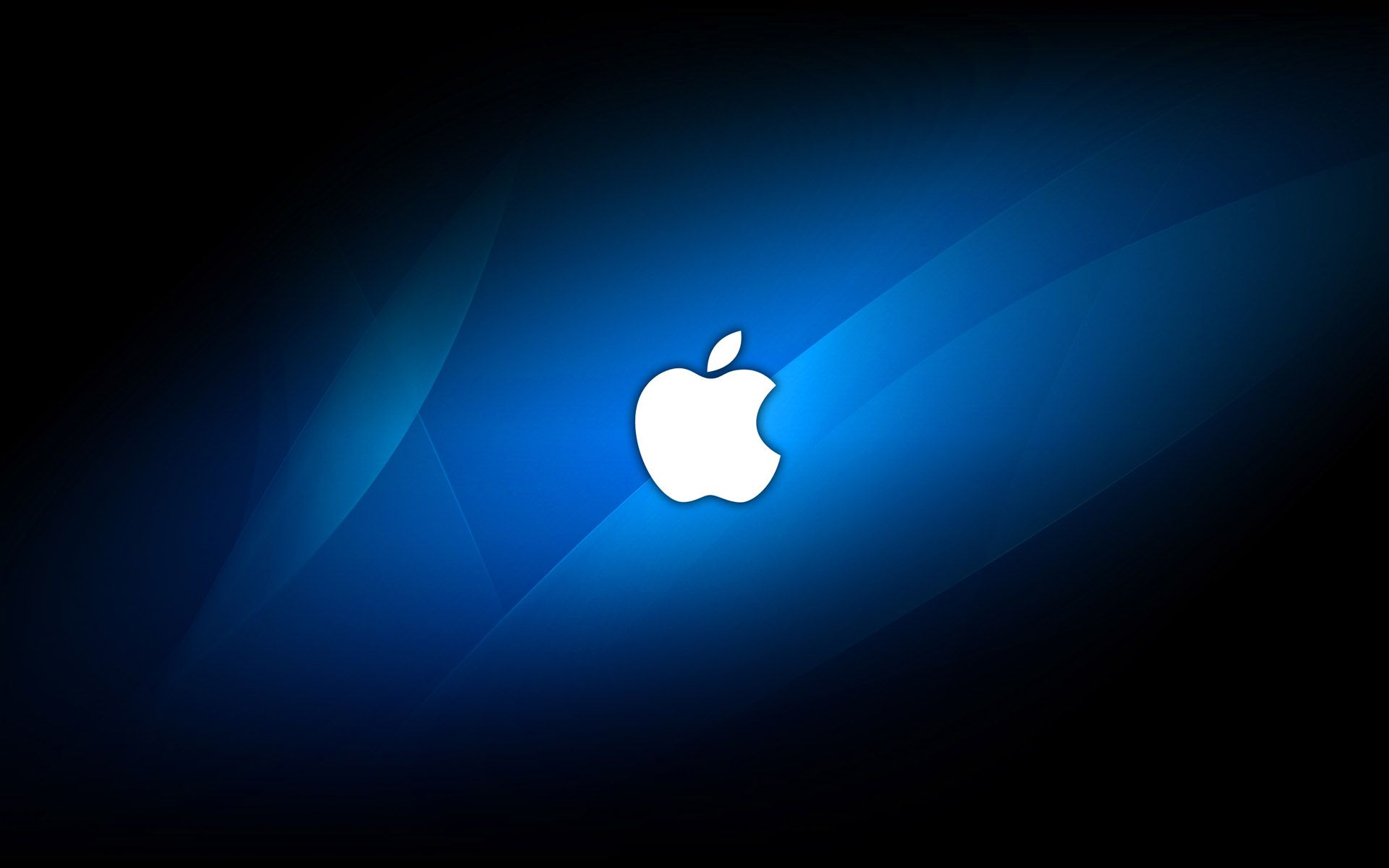 Papel De Parede Apple Azul Wallpaper Para Download No