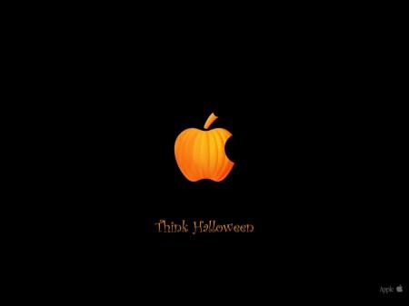 Papel de parede Apple Halloween para download gratuito. Use no computador pc, mac, macbook, celular, smartphone, iPhone, onde quiser!