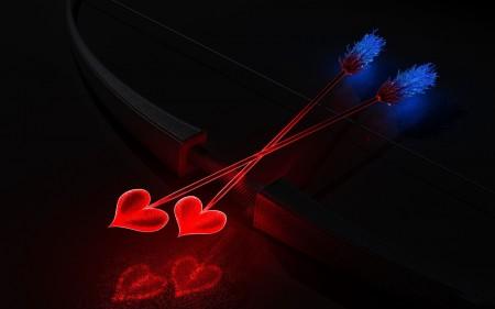 Papel de Parede Arco e Flechas do Cupido Wallpaper para ...