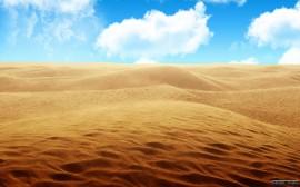 Papel de parede Areia do Deserto