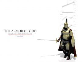 Papel de parede Armadura de Deus – Branco