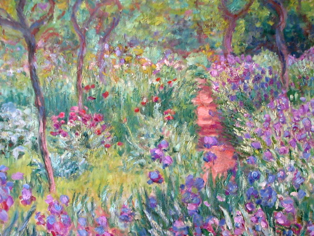 Papel de parede Monet – Jardim para download gratuito. Use no computador pc, mac, macbook, celular, smartphone, iPhone, onde quiser!
