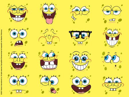 Papel de parede As Caras de Bob Esponja para download gratuito. Use no computador pc, mac, macbook, celular, smartphone, iPhone, onde quiser!