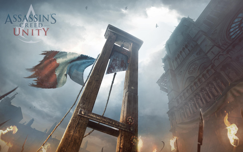 Papel de parede Revolução Francesa – Assassin's Creed Unity para download gratuito. Use no computador pc, mac, macbook, celular, smartphone, iPhone, onde quiser!